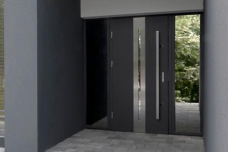Drzwi zewnętrzne 68 mm