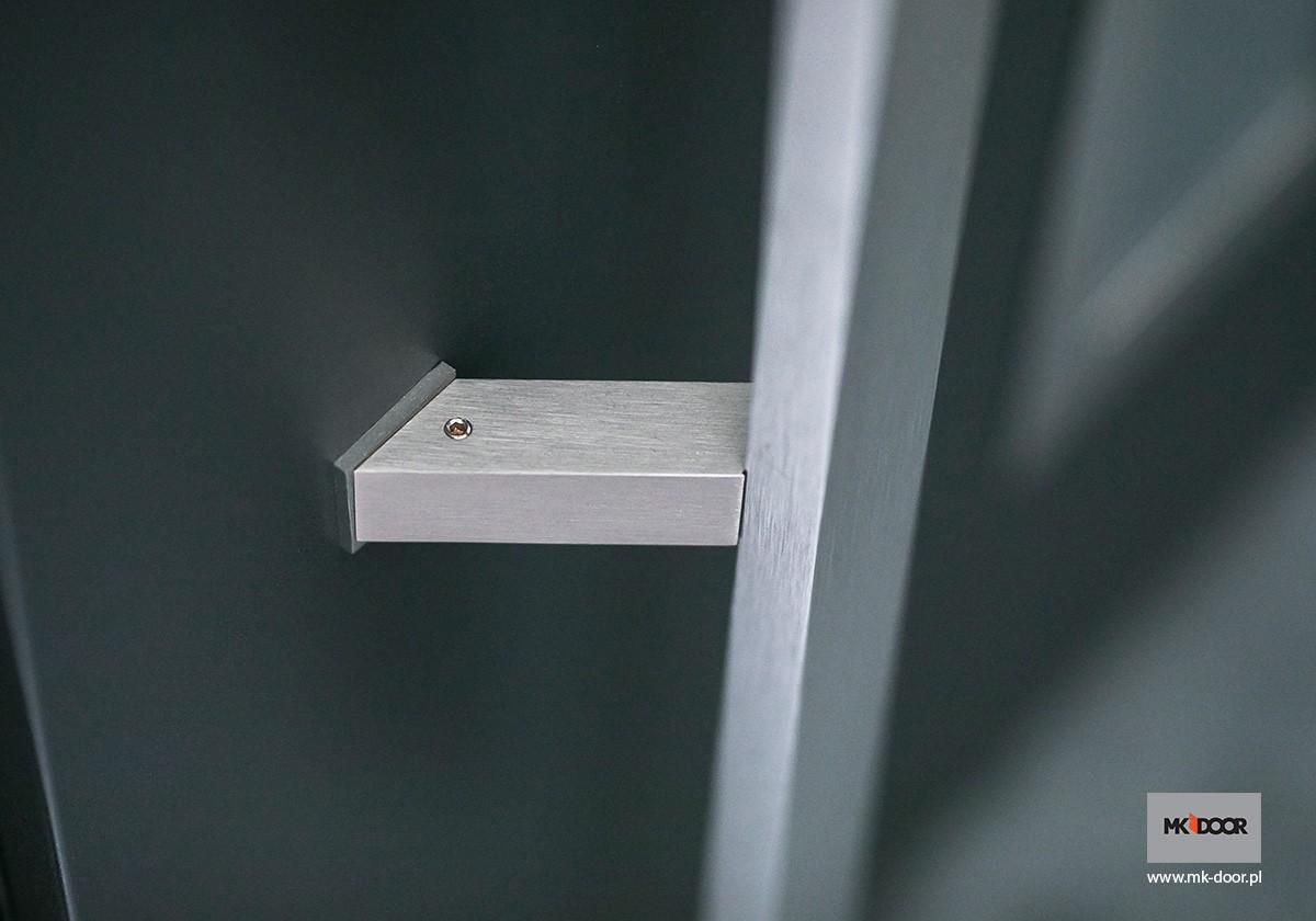 Pochwyt INOX do drzwi zewnętrznych MK-DOOR